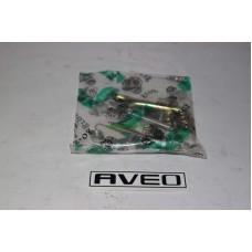 Ремкомплект задних тормозных колодок Aveo  (полный) правый